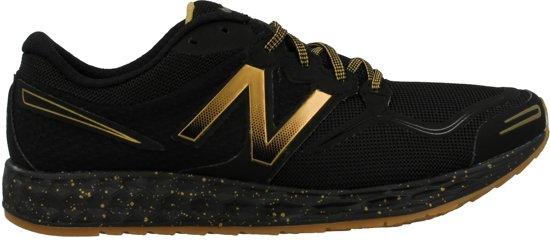 new balance zwart en goud