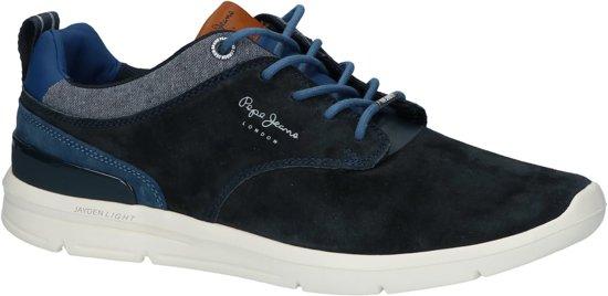 758770e772b Pepe Jeans - Pms30409 - Casual schoen veter - Heren - Maat 46 - Blauw