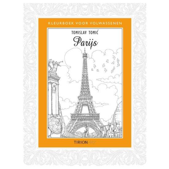 Nieuwe Kleurplaten Voor Volwassenen.Bol Com Kleurboek Voor Volwassenen Parijs Tomislav Tomic