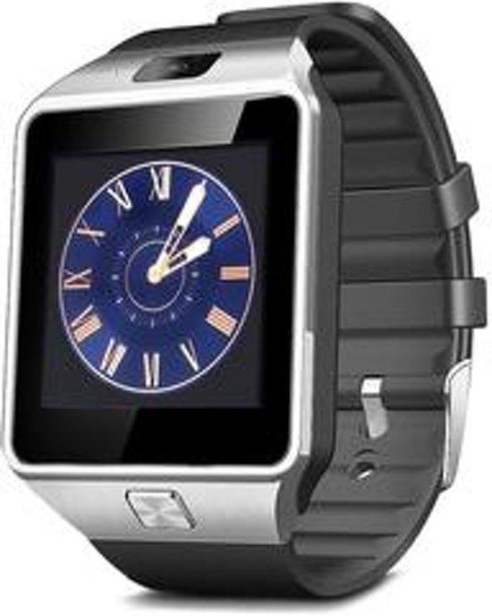 Smartwatch voor Android Smartphones (Samsung, LG, HTC, Huawei, Android) - Stijlvol Zilver Design