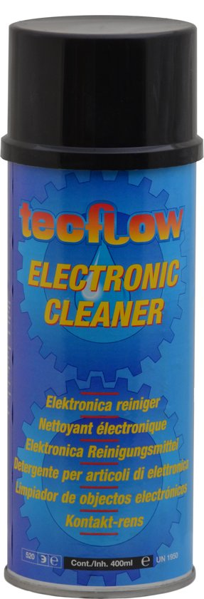 Super bol.com | Tecflow Electronic Cleaner | Contact Spray 400ml DS15