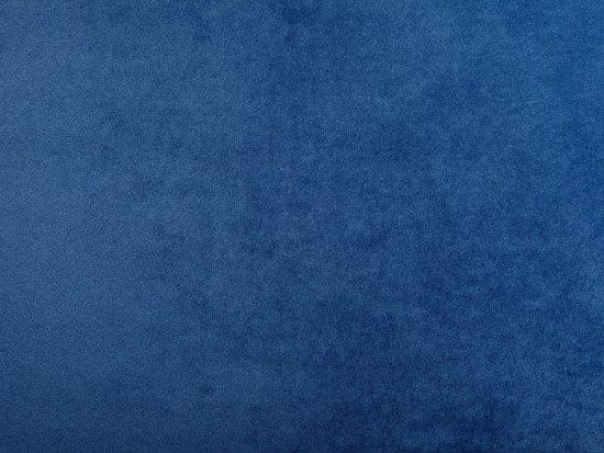 Beliani Arvika 3-Zits bank Blauw Stof