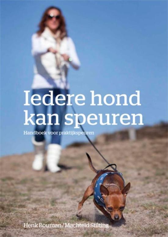 Cover van het boek 'Iedere hond kan speuren' van H. Bouman