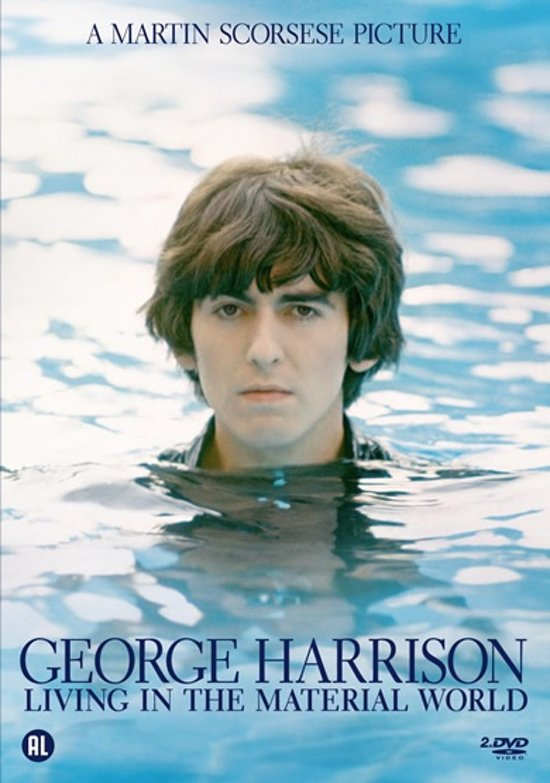 Cover van de film 'George Harrison - Living In The Material World'