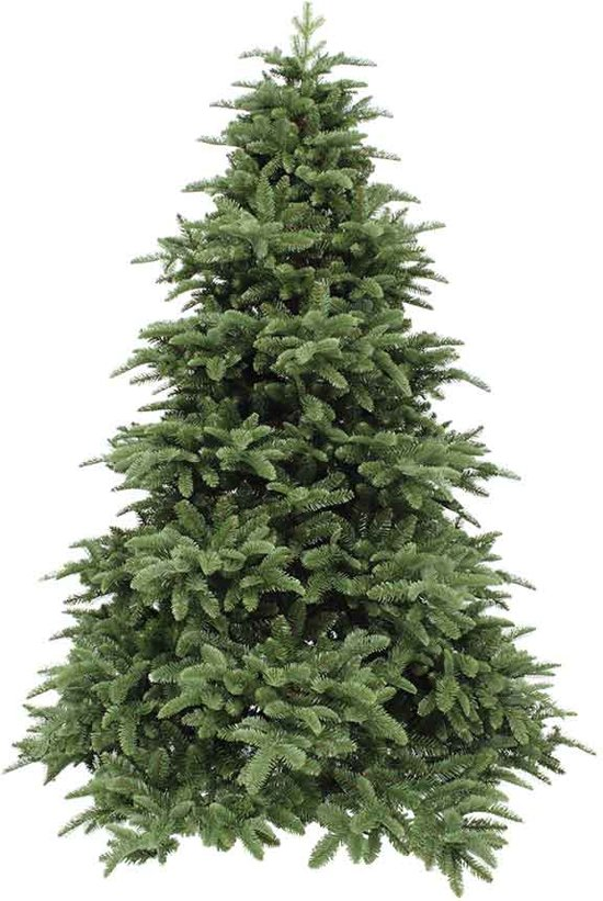Triumph tree kunstkerstboom deluxe abies nordmann maat in cm: 155 x 122 donkergroen