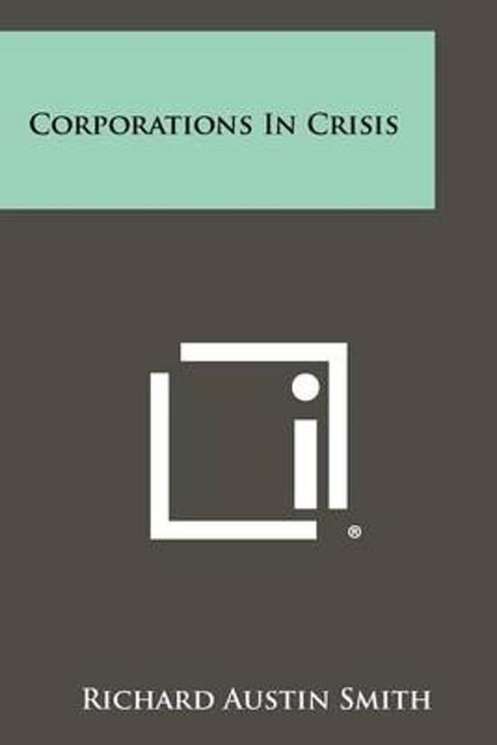Corporations in Crisis