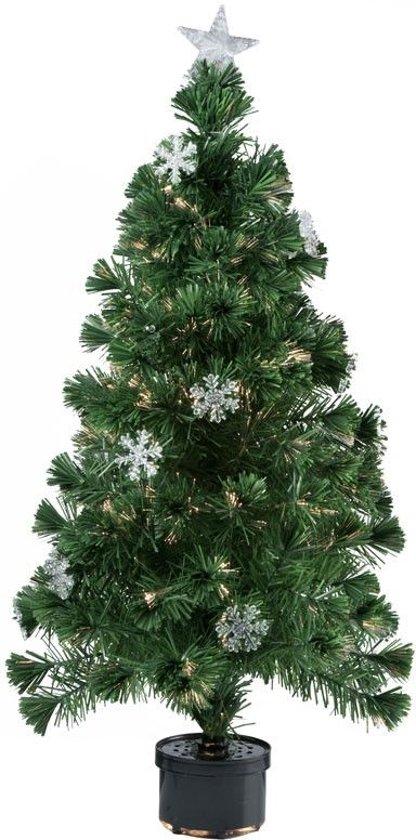 kerstboom met fiberverlichting 120cmchristmas gifts