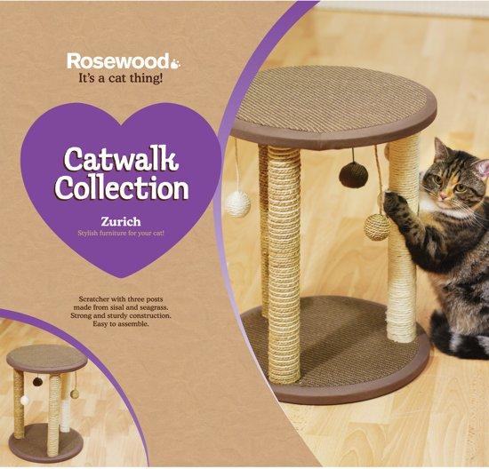 Rosewood Catwalk Collection Krabpaal Zurich - 45X40X40 CM