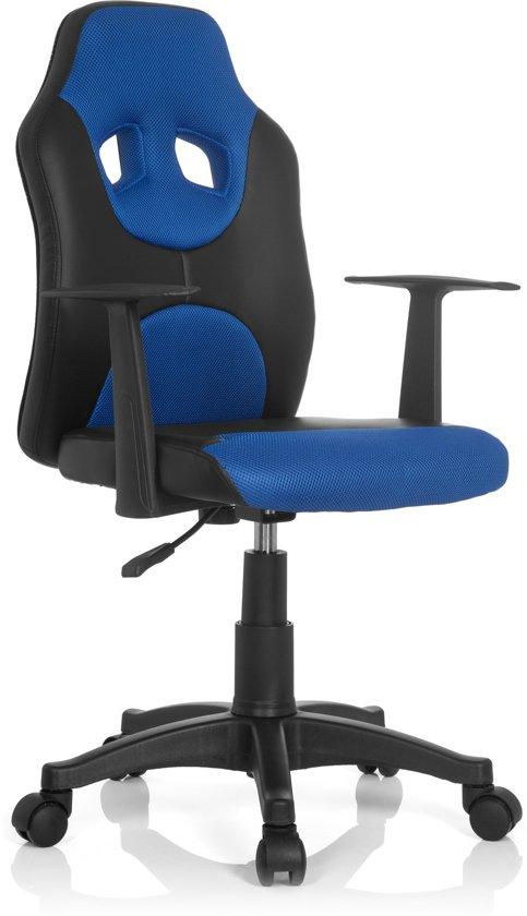 Bureaustoel Kind Blauw.Bol Com Hjh Office Kiddy Racer Al Bureaustoel Kinder Zwart