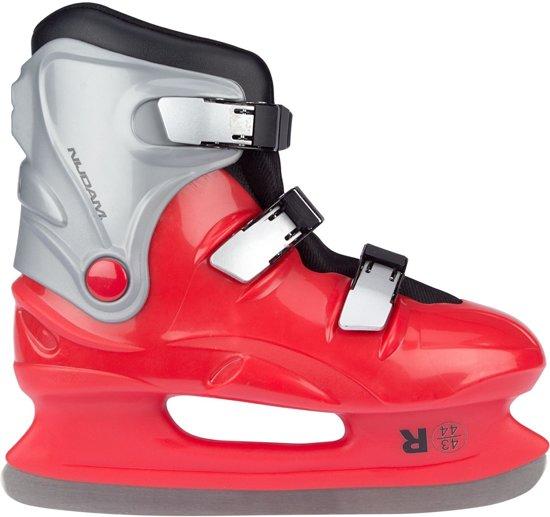 Nijdam Ijshockeyschaatsen Junior Rood Maat 35/36