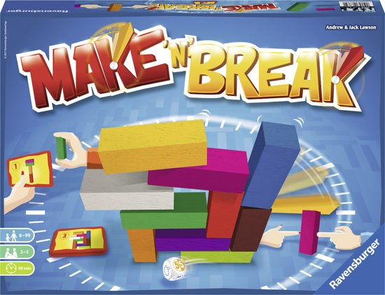 Ravensburger Make 'n Break - Actiespel