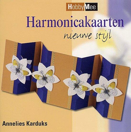 Cover van het boek 'Harmonicakaarten nieuwe stijl' van Annelies Karduks