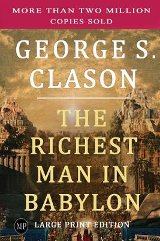 Boek cover The Richest Man in Babylon van George S. Clason (Paperback)