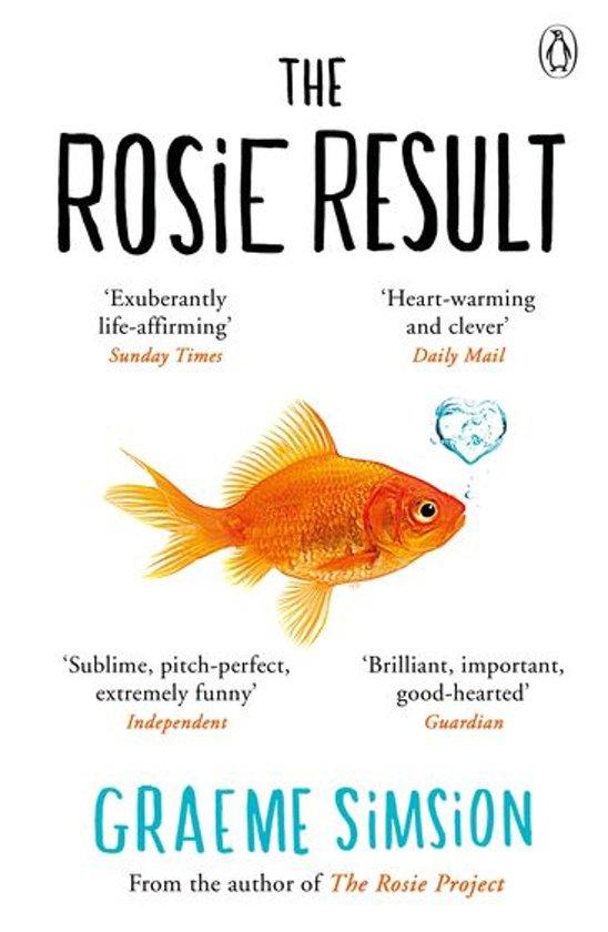 Boek cover The Rosie Result van Graeme Simsion (Onbekend)