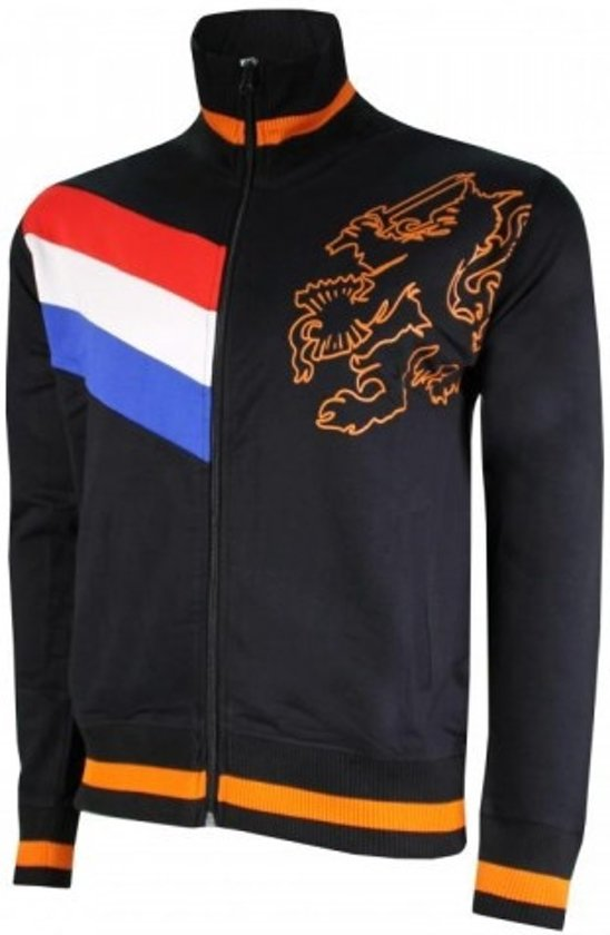 Nederlands Elftal Jack - Holland - Maat XL - Zwart