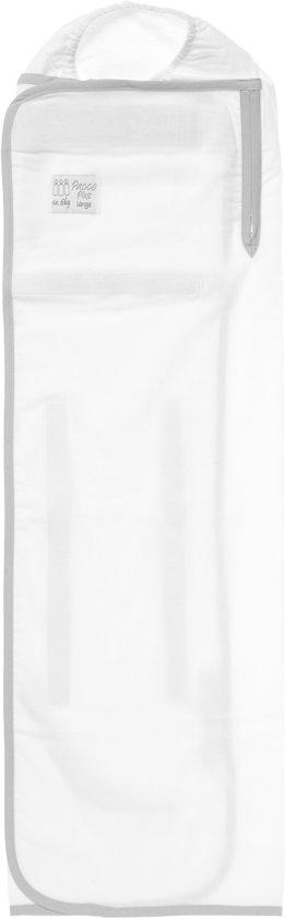 Pacco Plus Large - Afbouwdoek vanaf 6 à 7 kg - wit