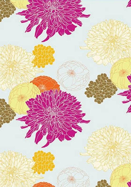 Garden Blossoms Flexi Journal