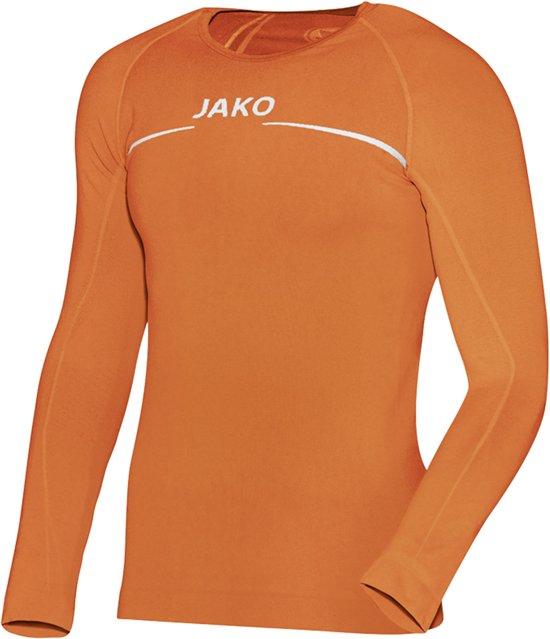 Jako Comfort LM  Sportshirt performance - Maat 140  - Unisex - oranje