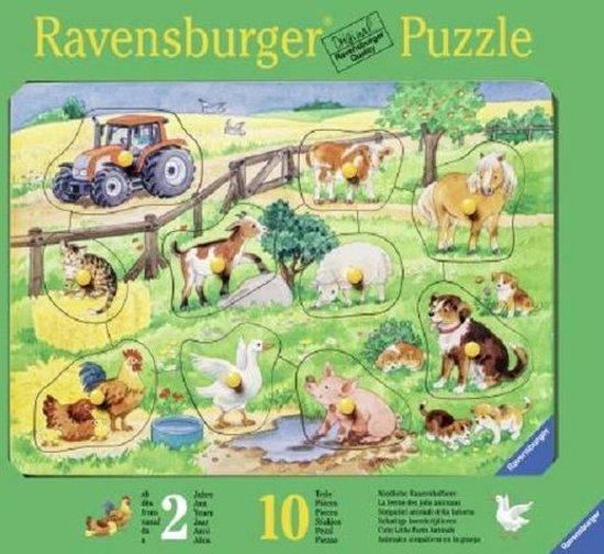 Ravensburger Schattige Boerderijdieren - Kinderpuzzel