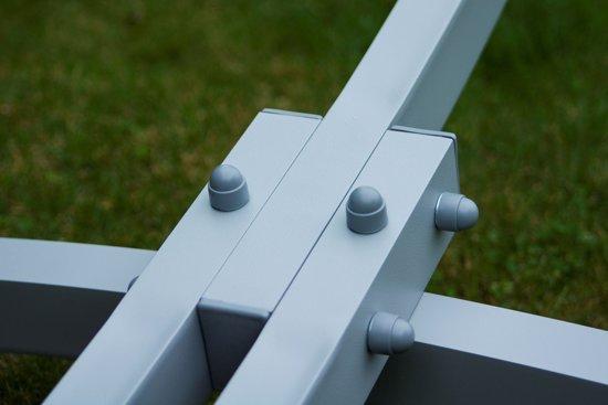 Potenza Prime- Tweepersoons hangmatset  / Hangmat met standaard - Aluminium