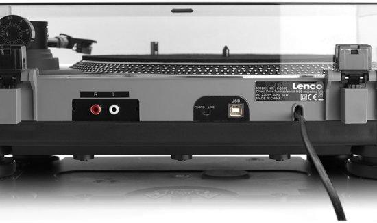 Lenco L-3808 Matt Grey digitale USB-platenspeler