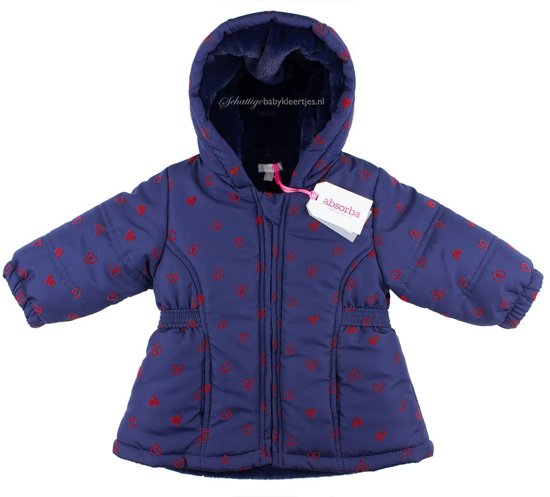 45aa0e2aa6d384 Dirkje Winterjas So British Absorba kinderkleding Mini-Kids Fille - Maat 116