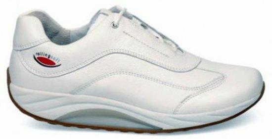 ungleich in der Leistung großer Rabatt neue angebote Gabor Rollingsoft Dames Lage sneakers - Wit - Maat 39