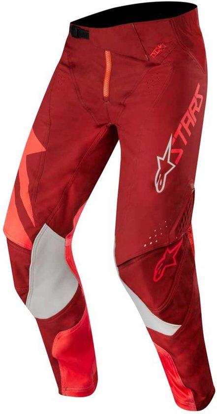 Red 28 Alpinestars Crossbroek Factory burgundy Techstar SMjUpLGqVz