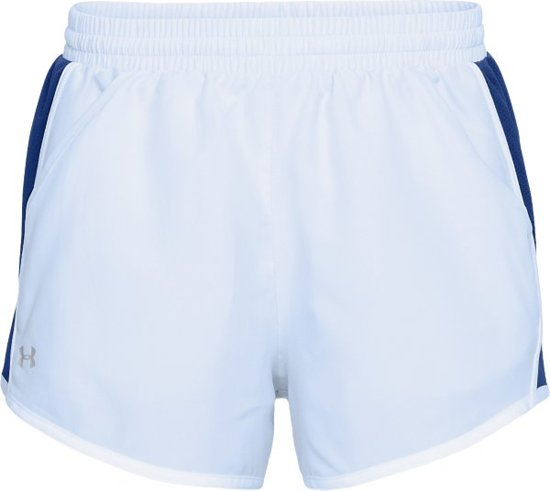 Under Armour Fly By Short Sportbroek - Dames - Maat L - Oxford Blue