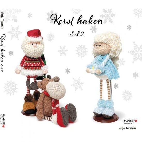 Bolcom Kerst Haken Deel 2 Anja Toonen 9789492602190 Boeken