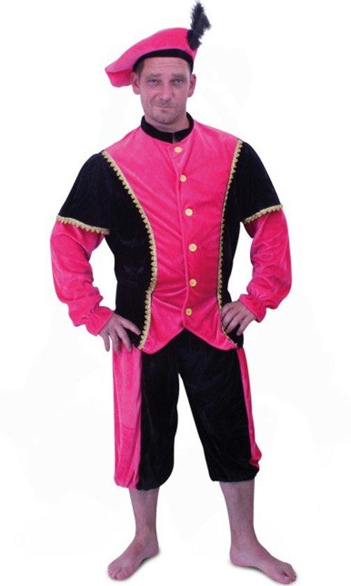 Piet pak roze-zwart pansamt mt.52/54