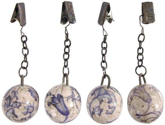 Keramieken tafelkleedgewichtjes - set van 20 stuks