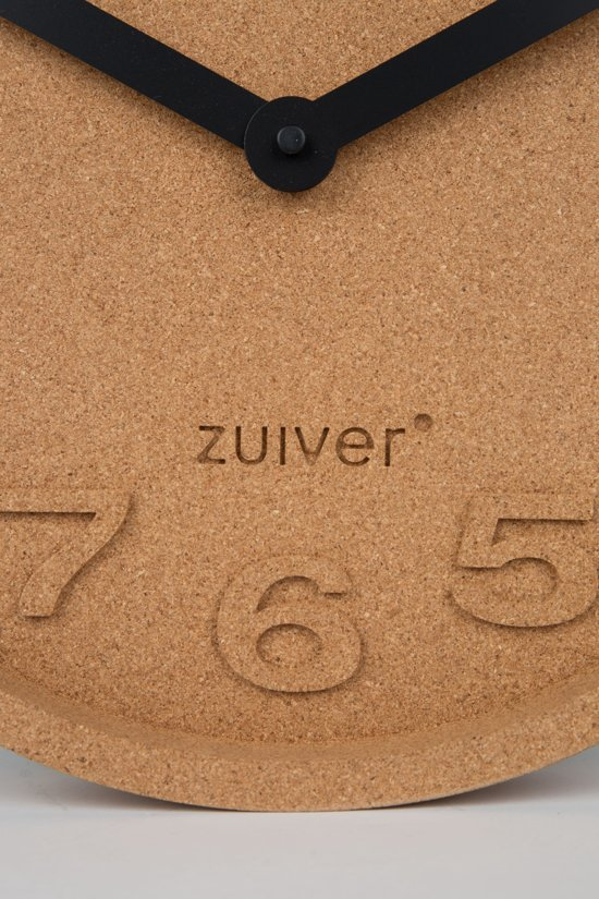 Zuiver Cork Time Wandklok à 31 cm