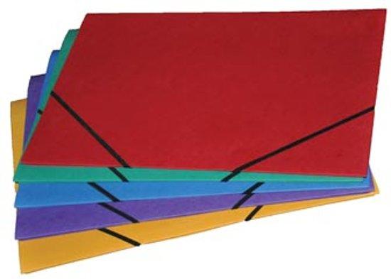 Class'ex elastomap formaat 28 x 38 cm (voor formaat folio) geassorteerde kleuren