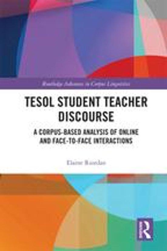 TESOL Student Teacher Discourse