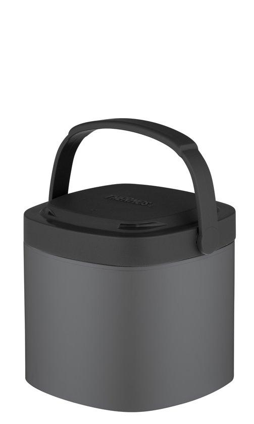 Thermos Voedseldrager - Stack N Lock M - 710 Ml - Grijs