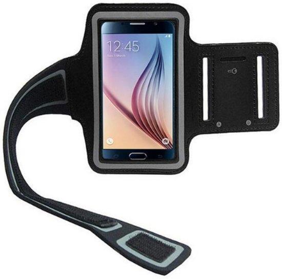 Handige mobielhouder arm voor hardlopen | Zwart
