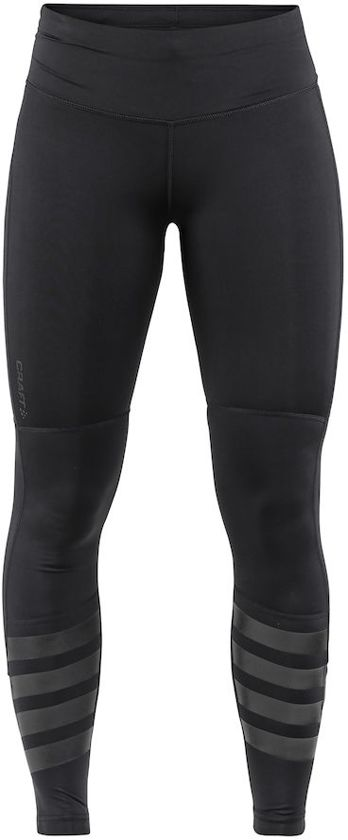 Craft Urban Run Tights Sportlegging Dames - Black