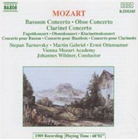 Various - Bassoon, Oboe & Clarinet Concerto