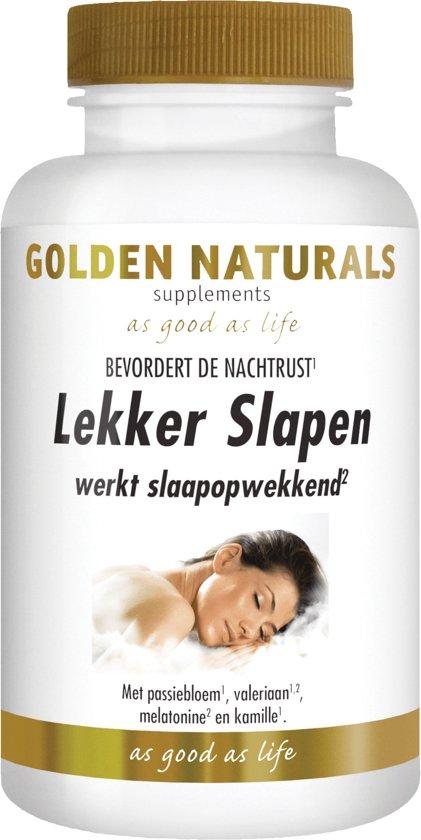Golden Naturals Verlichting Golden Naturals Lekker Slapen 60 caps.