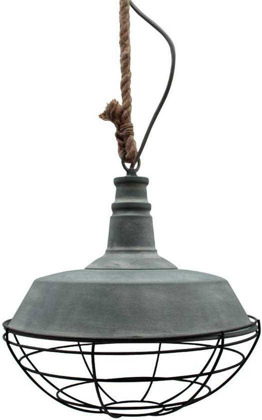 LABEL51 Korf - Hanglamp - Ø36 cm - Grijs