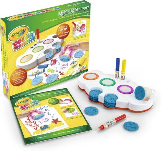 Crayola Color Wonder Light-up Stamper - Stempelset