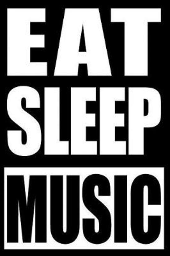 Eat Sleep Music Notebook for a Band Director