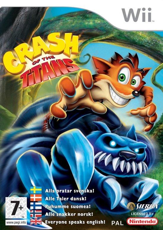 Crash of the Titans /Wii kopen