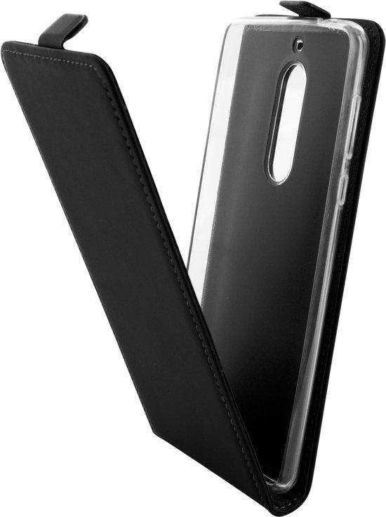 online store 1a239 cfa3f Mobiparts Premium Flip TPU Case Nokia 5 Black