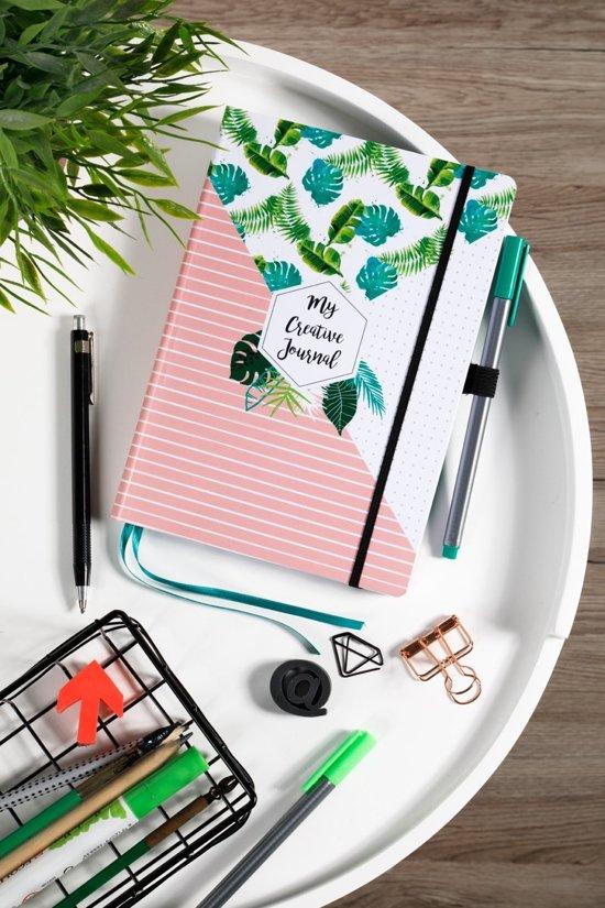 My Creative Journal + Mijn Bullet Journal Stencils - Set van 15 + 3 Brushpennen + 1 Liniaal