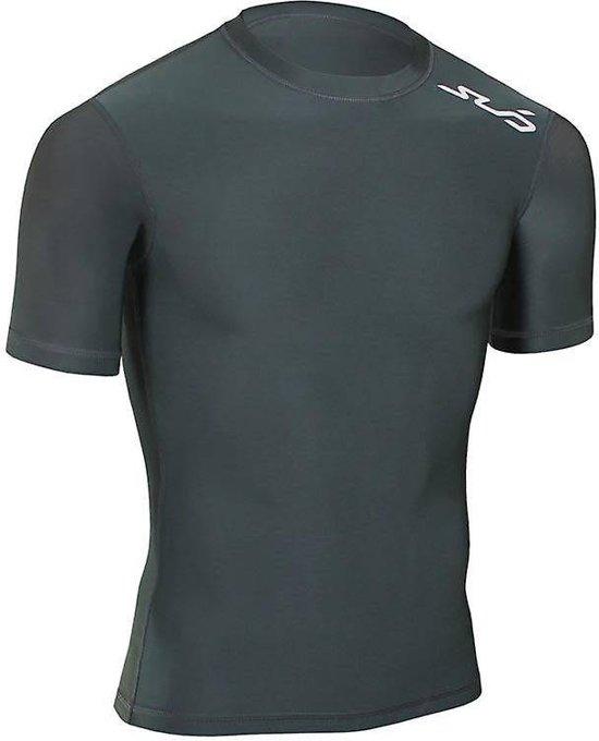S Zwart Warm Heren Sub Cold Stay Sports Shortsleeve Shirt W9HIED2