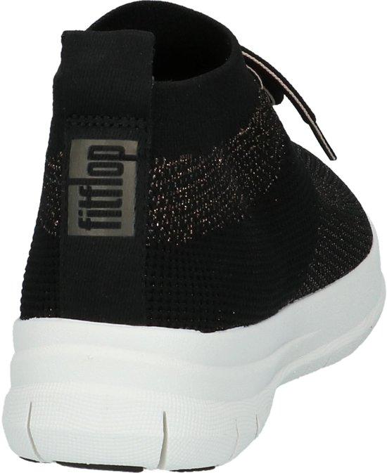 on Zwart J30 Uberknit Maat 40 Dames High Gekleed Top bronze Metall Fitflop Slip Laag Sneaker black 501 nEAAS