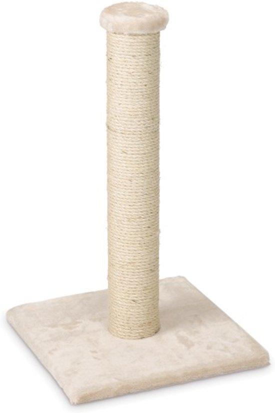 Beeztees Gina - Krabpaal - Beige - 34x34x60 cm