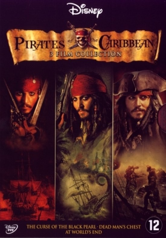 Pirates Of The Caribbean 1 t/m 3
